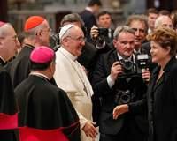 Papa defende pobres e a natureza