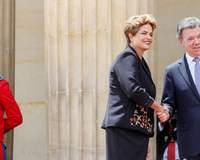 Dilma firma acordo na Colômbia