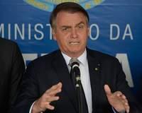 Nos EUA, Bolsonaro se diz preocupado com eleições argentinas