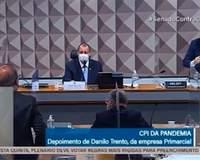 Renan Calheiros e Jorginho Mello trocam insultos e clima fica tenso em CPI; vídeo