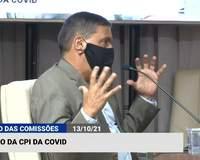Ex-adjunto da Sesap depõe na CPI da covid no RN; acompanhe ao vivo