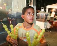Parque Aristófanes Fernandes lota no feriado nacional