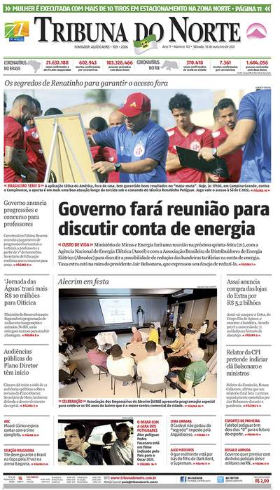 Edição do Dia - Jornal Tribuna do Norte