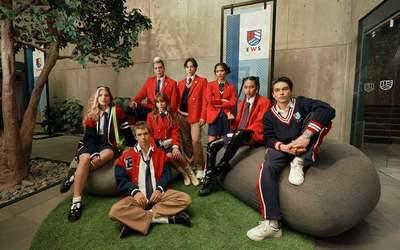 Netflix divulga imagem da nova geração de Rebelde com brasileira Giovanna Grigio