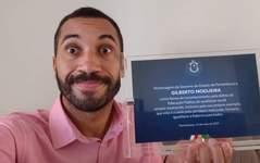 Gil do Vigor aparece em vídeo com presidente da Marvel
