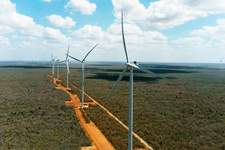 Empresa inaugura parque eólico no RN que promete alívio ao sistema elétrico