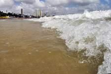 Avanço do oceano pode trazer ameaça para cidades no RN